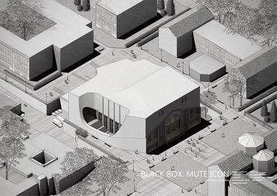 BLACK BOX. MUTE ICON