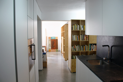 Interior remodelling of flat