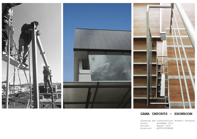 Showroom Gama Imports - Planning and construction