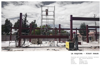 La Esquina First Phase - Planning and construction
