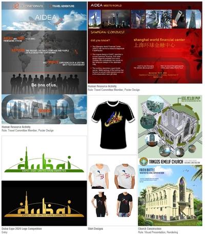 Graphic Designs, Renderings