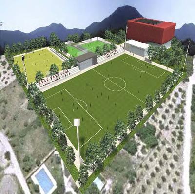 Sports Facilities at Artana (Castellón, Spain)