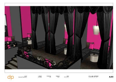 Club Step and the Top Shelf Cat Walk Bar