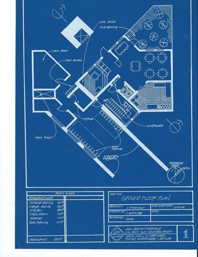 Copenhagen Housing Project---Ground Floor Plans