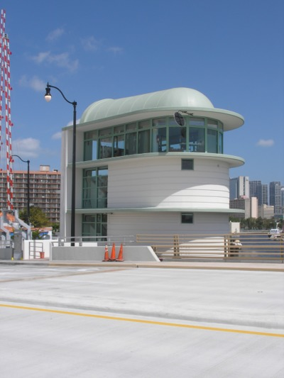H2L2 (Built) Miami Fl, 5th Street Bridge Control House