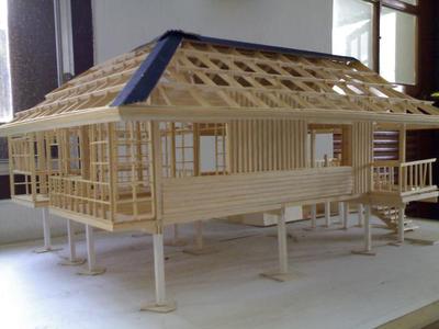 Wood Construction Study Model