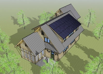 Green Cabin Design