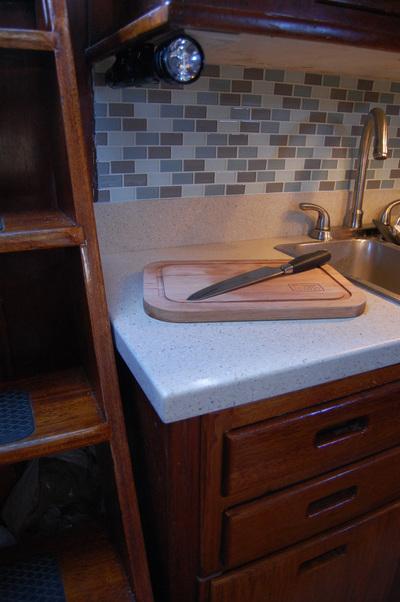 Boat Kitchen Countertop