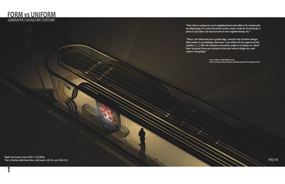 FORM vs UNIFORM - Generative Chicago BRT Stations