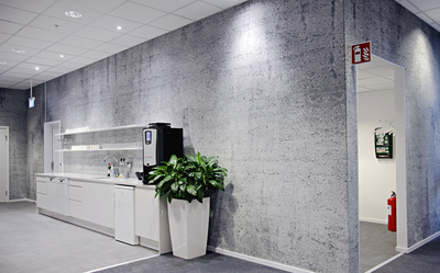 Concrete Wallpaper design - Tunnel of concrete