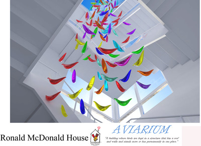 Ronald McDonald House-Interior design projects