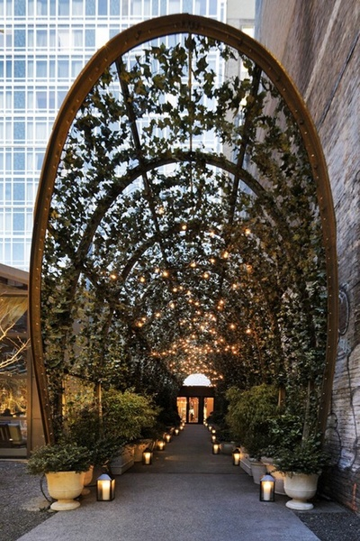 Garden Tunnel @ Mondrian Hotel