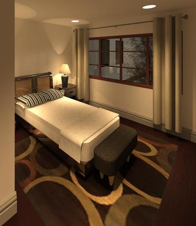 interior rendering using revit only