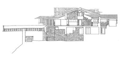 Taliesin Section HABS Drawing