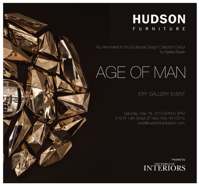 HUDSON FURNITURE & THE WORLD OF INTERIORS 'AGE OF MAN'