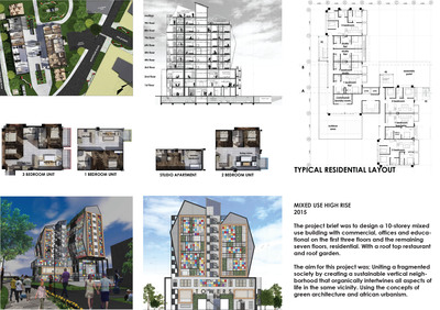 MIXED USE HIGH RISE
