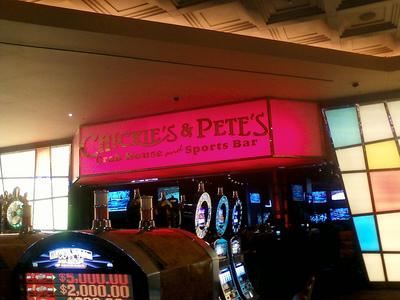 Parx Casino Chickie & Pete's Wall