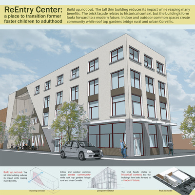 ReEntry Center: a place to transistion former foster children into adulthood