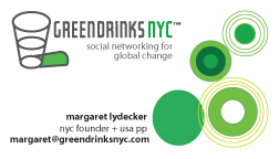 Green Drinks NYC Graphics