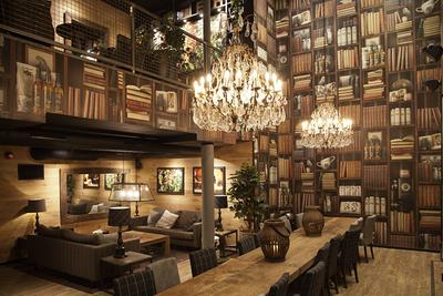 Wallapaper concept and design in over 100 Espresso House.