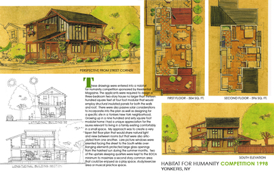 HABITAT FOR HUMANITY MODULAR HOME