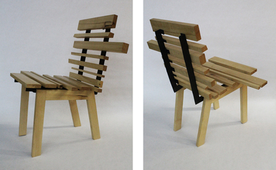 "The ""Barcode"" Chair"