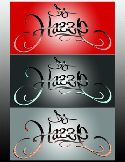 DJ Hazze Graphic Logo