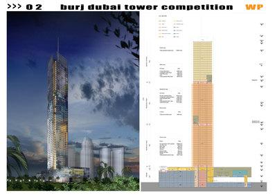 Burj Dubai Tower Competition