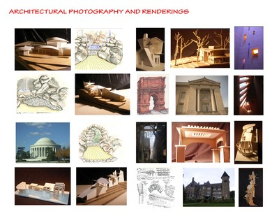 Hand renderings, Architectural Photography and 3D Models