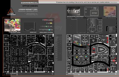 Commercial Office Design for Virgin Money America