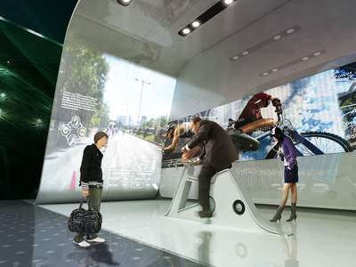 The Design for Virtual Experience Space