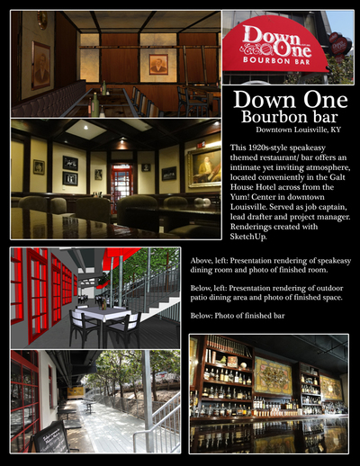 Down One Bourbon Bar
