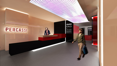 Percassi Group Offices in Italy (Milan & Bergamo)