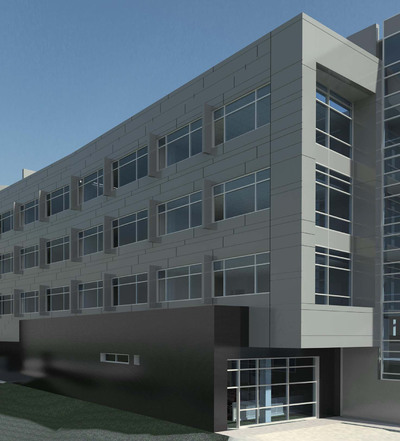 College Building in NJ