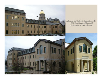 Carole Sandner Hall, University of Notre Dame
