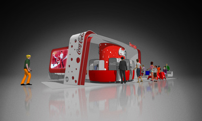 Coke Freestyle Lounge