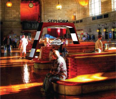 Retail Design: Sephora pop-up retail