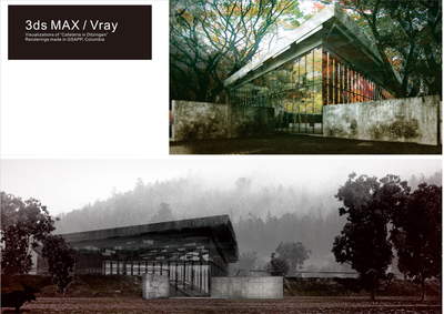 "Visualization of ""Cafeteria in Ditzingen"""