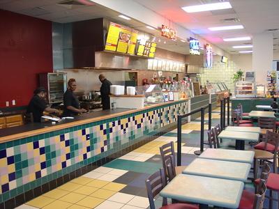 Subway Interior Food Court
