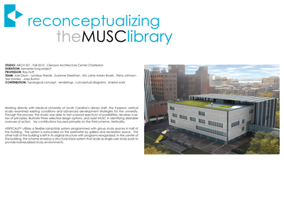 MUSC Library Renovation