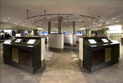 """USPS Grand Central Station """"Business Web Center"""" (new interior construction),"""