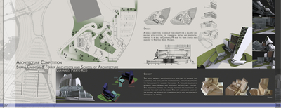 Architecture Competition - Sierra Cardona & Ferrer (SCF) Architects and School of Architecture, UPR