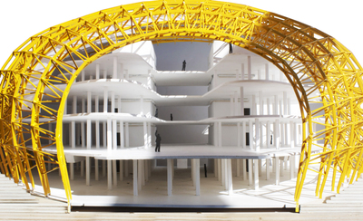 Berlin Free Philological Library Model