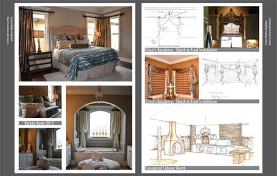 Work from time at Dunn's Furniture and Interiors.