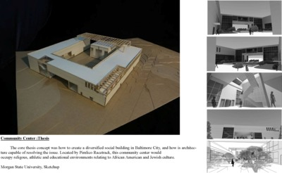 Community Center :Thesis
