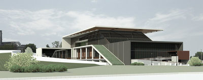 SIUC School of Architecture Building Proposal - M.Arch Thesis 2012