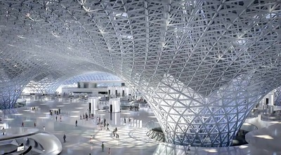 NAICM New International Airport in Mexico City