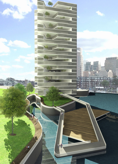 Vertical Network: Olympic Resilience Housing