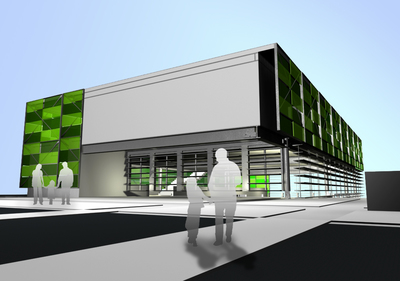 Community Center - Thesis Project.