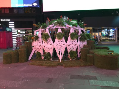 Times Square Electronic Garden